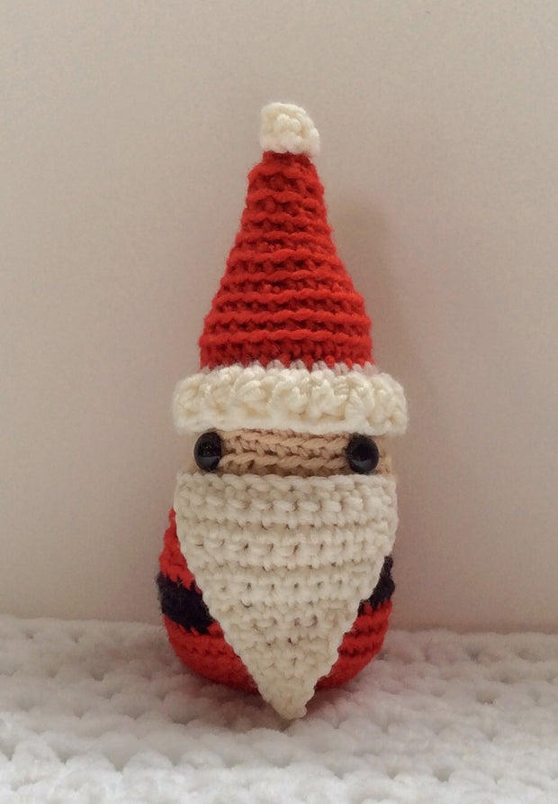 Santa Claus Father Christmas amigurumi crochet pattern
