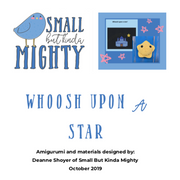 Whoosh Upon a Star printable - calming bedtime story plus social narratives on stimming and AAC