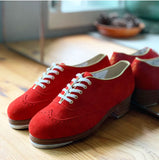 Suede Red CL730_Red