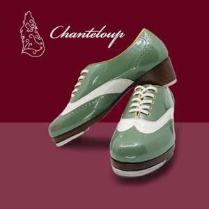 Enamel Green White CL770