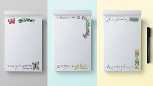 3 notepad designs
