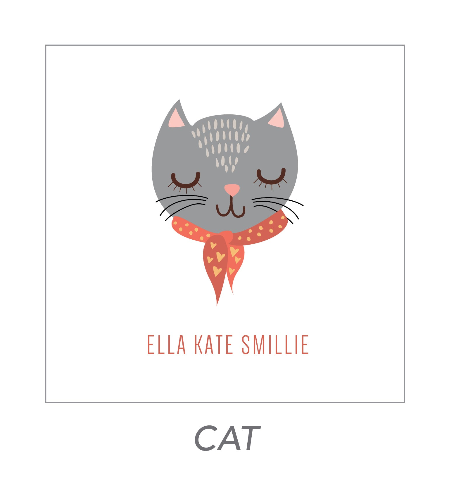 girl stickers (cat)