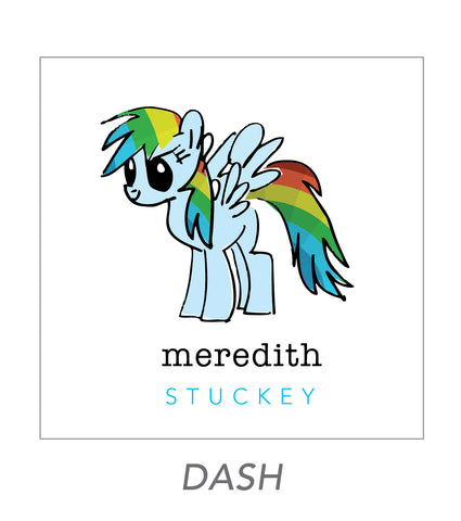 girl stickers (dash)