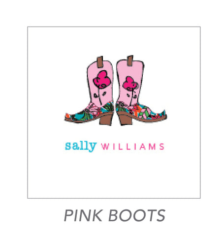 girl stickers (pink boots)