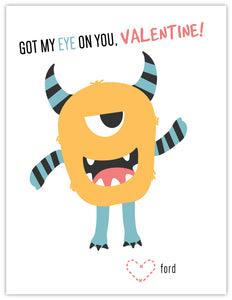 Monster Boy Valentine