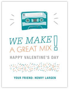 Mix Tape Boy Valentine
