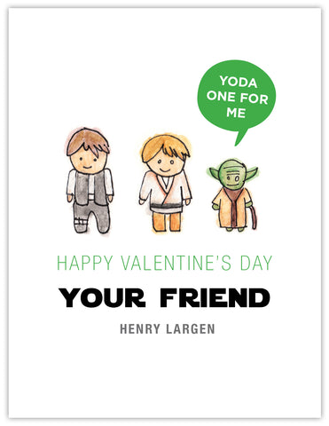 Star Wars Trio Valentine