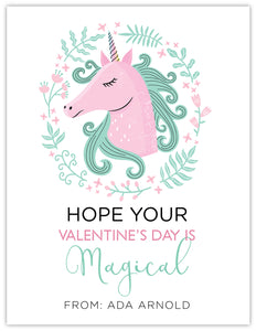 Magical Unicorn Valentine