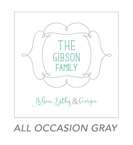 grown up stickers (ALL OCCASION GRAY)