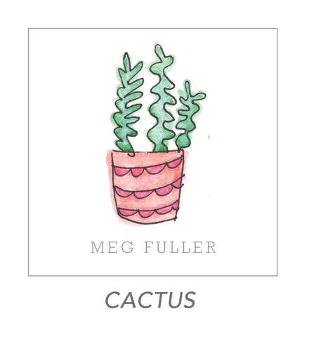 grown up stickers (cactus)