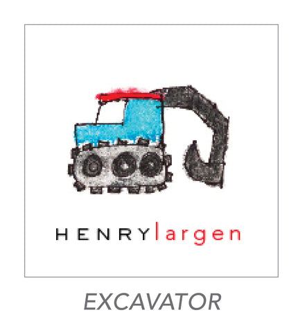 boy stickers (EXCAVATOR)