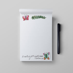 4x6 Notepad-Rest