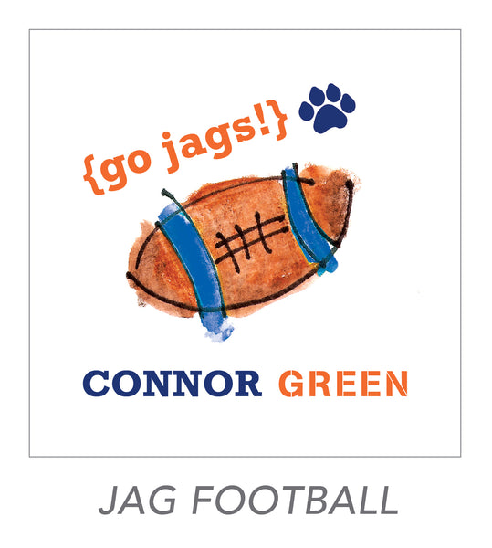 boy stickers (JAG FOOTBALL)