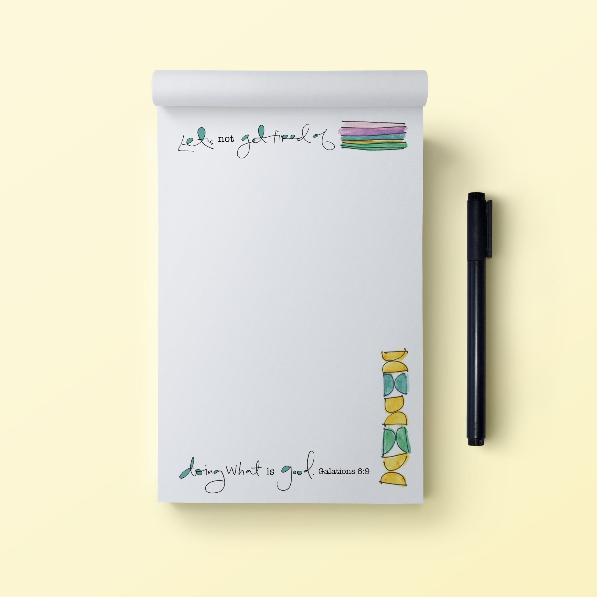 4x6 Notepad-Good