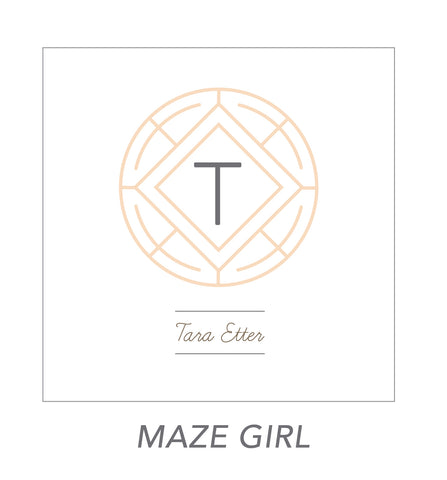 grown up stickers (MAZE GIRL)