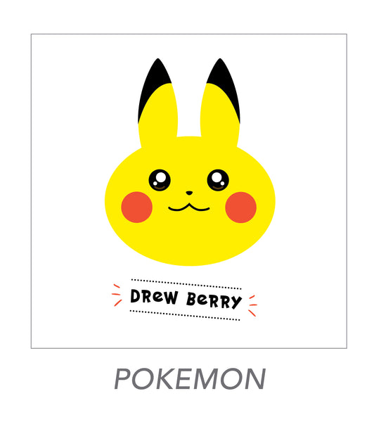 boy stickers (POKEMON)