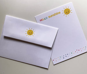 sunshine notecards