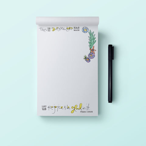 4x6 Notepad-This is the Day