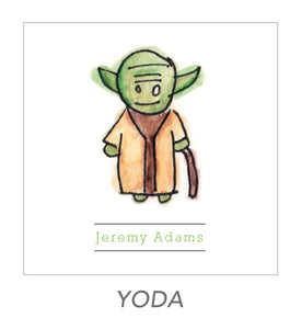 boy stickers (YODA)