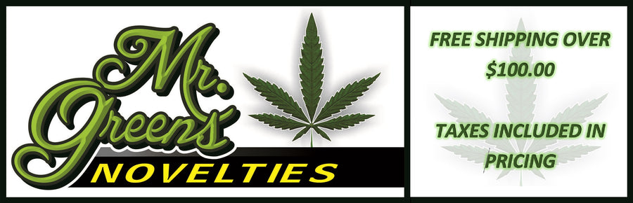 Mr. Greens Novelties Lasalle Blvd Sudbury Ontario Canada - Cannabis Accessory Retail Glass Bong, Rigs, Vapes, Clothing, Smoking, Cooking, Games, Mr. Greens Apparel #mrgreens buy now at mrgreensnovelties.com