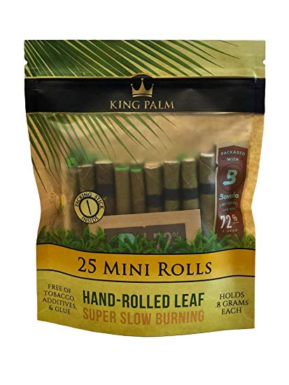 King Palm Blunt Wraps 25 mini