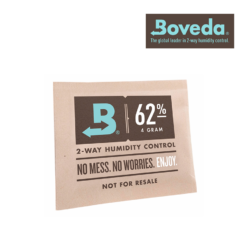Boveda Humidity Packs - 8G, 62% Single or 5 Pack (Can store up to 28 grams)
