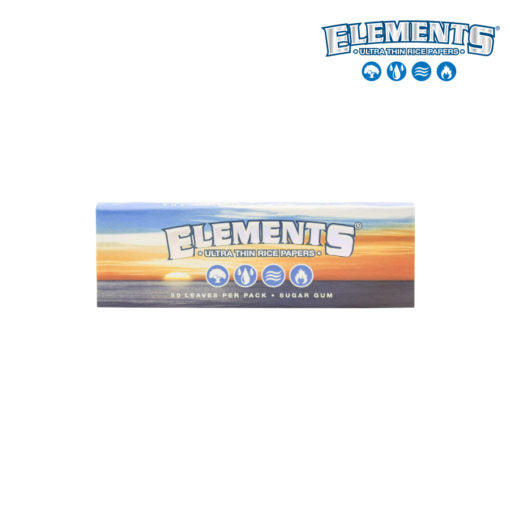 Elements Single wide 50 papers pack