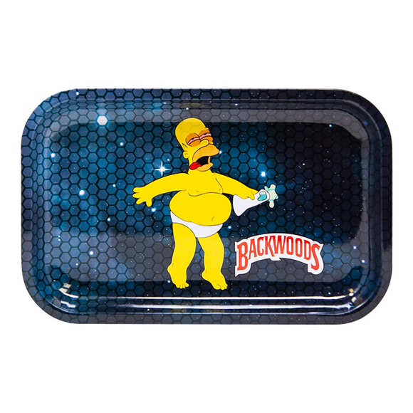Homer Simpson in Space Medium Rolling Tray