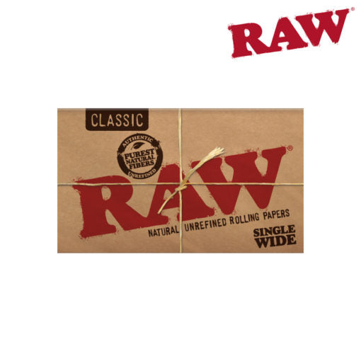 RAW Single Wide Double Window Papers