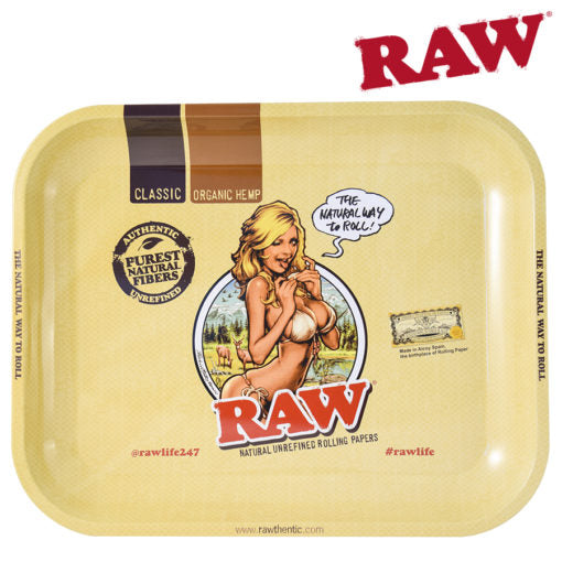 RAW Large Rolling Tray - RAW Gurl