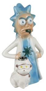 Custom Cartoon #1 Art Ceramic Waterpipe - 8""