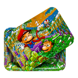 Mario & Luigi Small Tray with Magnetic Lid