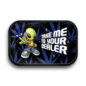 Take Me To Your Dealer! Medium Rolling Tray