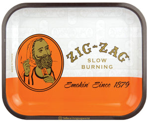 Medium Zig Zag Orange Slow Burning Rolling Tray