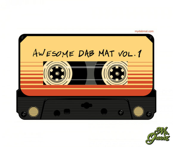 Awesome Mix Tape Dab Mat