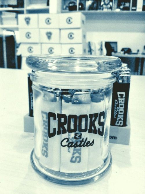 Crooks & Castles - Pure Glass Stash Storage Jars