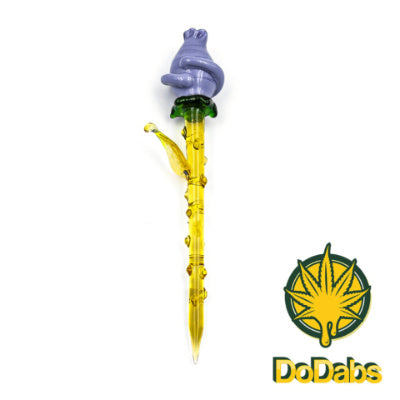 DoDabs - Glass Dabber - Blue Rose