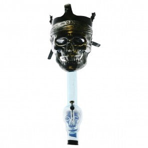 Bronze Skull with Bandana Silicone Gas Mask