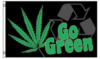 Go Green Flag
