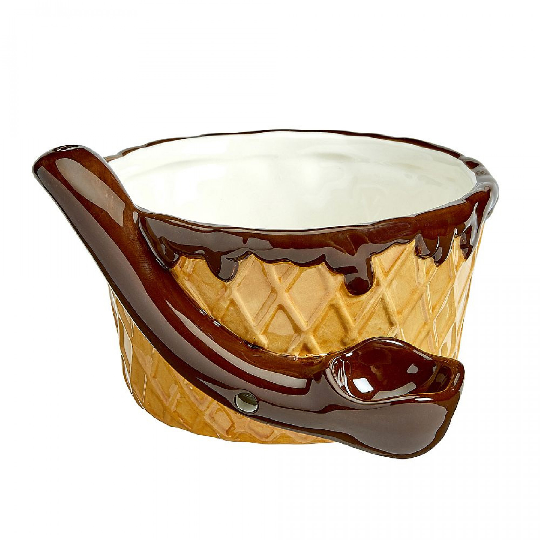 Ice Cream Bowl Ceramic Pipe
