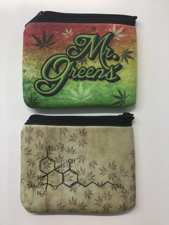 "Mr. Greens Stash Pouch 5"" x 4"""