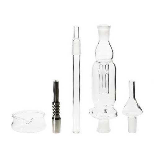 "Nectar Collector Set 6"" 14mm with Dish and Box"