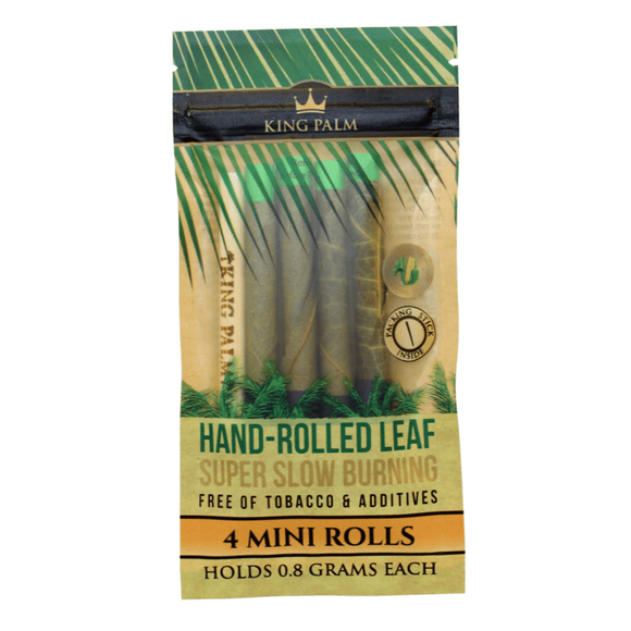 King Palm Blunt Wraps - 4 Mini Wraps