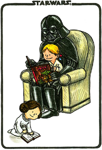 Star Wars Darth Vader and Son Journal by Jeffrey Brown
