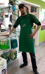 Mr. Greens Cooking Apron - Dark Green