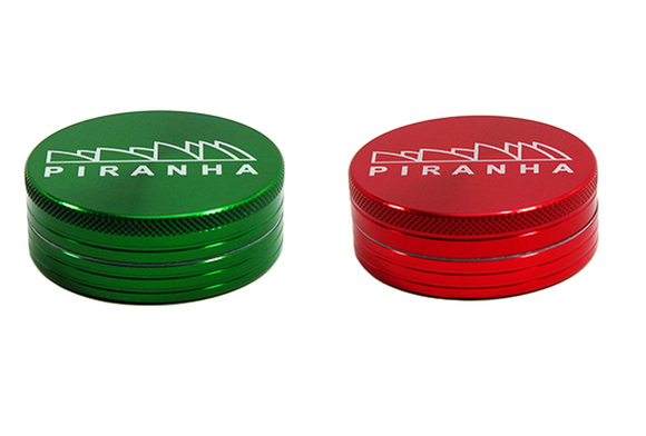 "Metal 2.5"" Medium 2 Piece Grinder by Piranha"