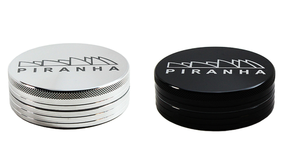 "Metal 3.5"" Large 2 Piece Grinder by Piranha"