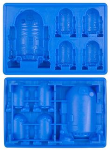 Dope Molds Sillicone Gummy Tray Large R2D2 Gummy