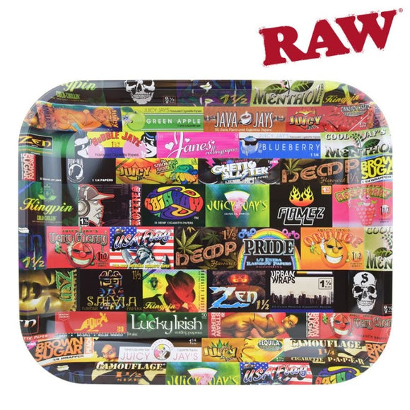 RAW History 101 Rolling Tray - Large