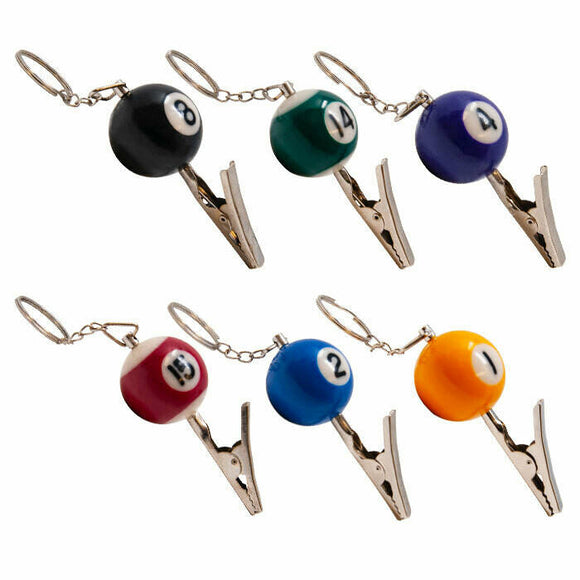 Pool Ball Roach Clips